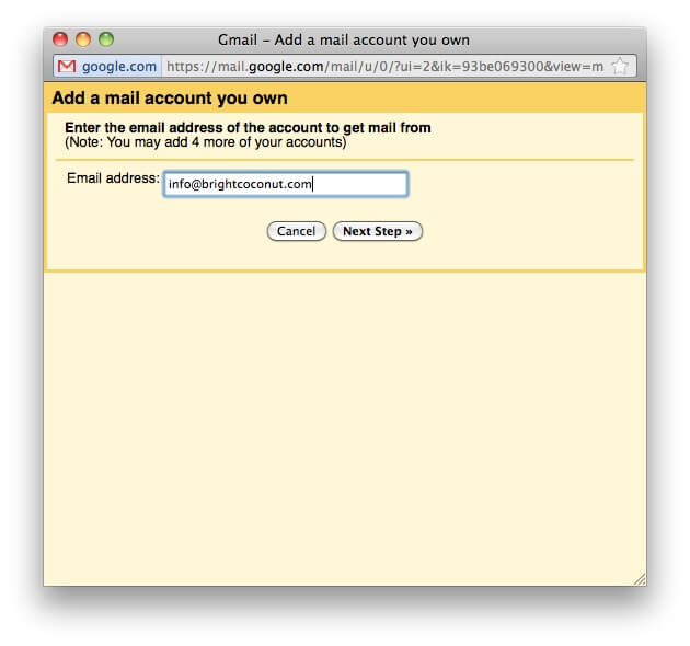 How to Run Your Own Email Through Gmail • Bright Coconut