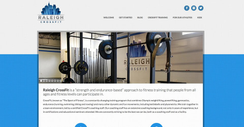 Raleigh CrossFit website