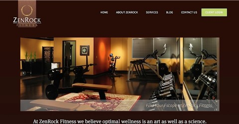 ZenRock Fitness website