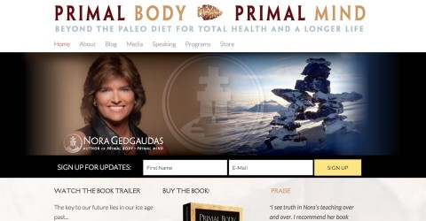 Primal Body Primal Mind website