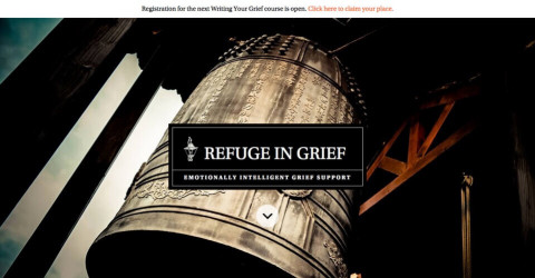Refuge in Grief website