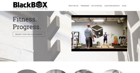 Black Box Fort Worth website