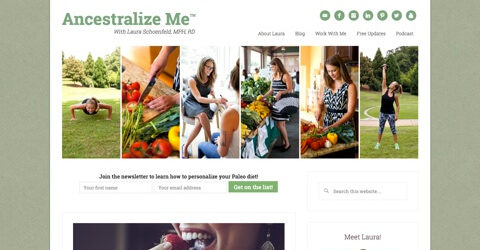 Ancestralize Me website