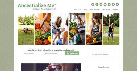 Ancestralize Me website