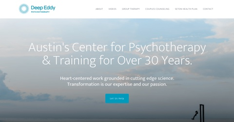 Deep Eddy Psychotherapy website