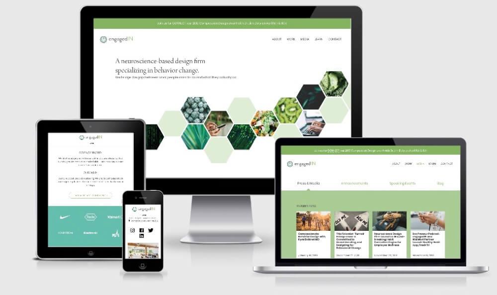 engagedIN behavior design website